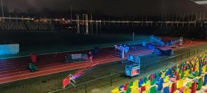 Lasergamen in het FBK stadion