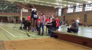 Ruby springt naar 4,91m