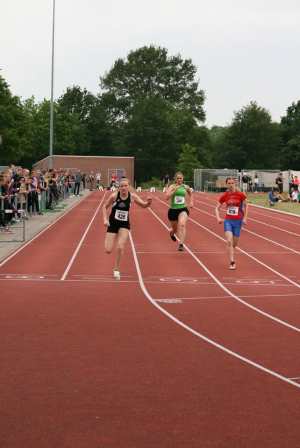 Marjolein op de 100m