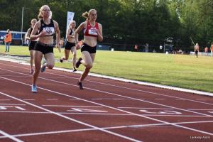 Op dezelfde dag een PR voor Elise op de 100m