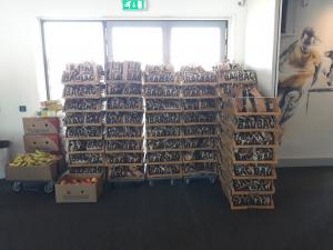 500 lunchpakketten voor iedereen die zich inzet voor de FBK-Games