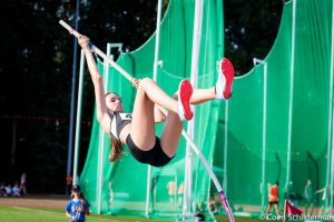 Noortje sprong over 2,80m