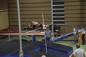 Lena sprong een dik PR met 2,10 meter!