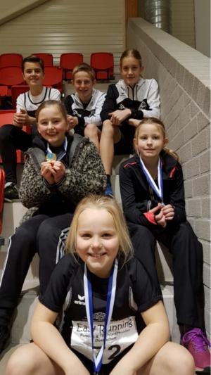 Poserend met mooie medailles