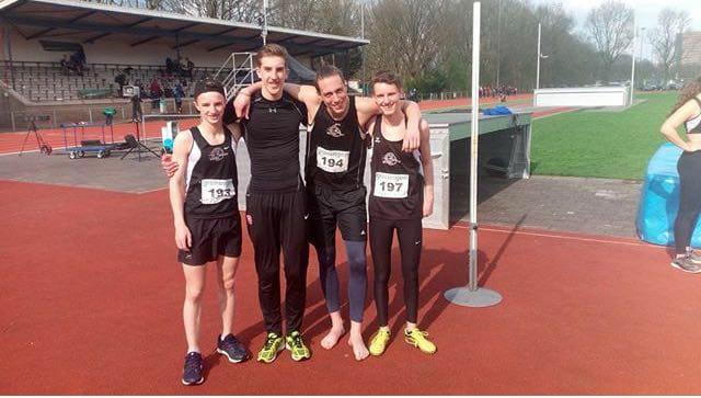 De nieuwe recordhouders op de 4x400m