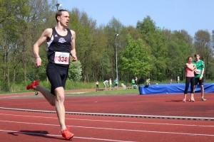 Yvar gaf een rondje op de 400m
