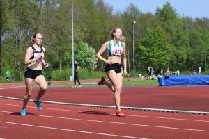 Susan op de 400m