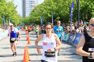 Marijke van Duuren liep de 10km (Foto van PSDesignfotografie)