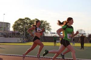 Emma Trouw op de 800m