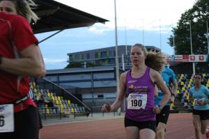 Lisanne Wiggers op de 5000m
