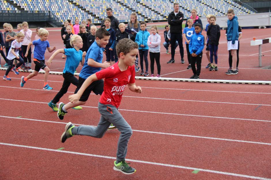 De start van de 150m