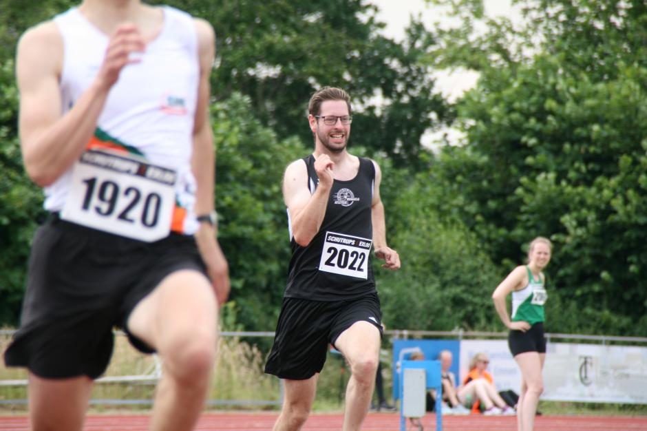 Martin op de 200m