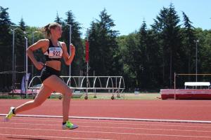 Danique liep 59,06 op de 400m