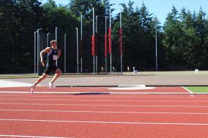Yvar behield de voorsprong op de 4x400m