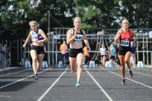 Susan sprintte de 100m