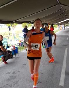 De nieuwe wereldkampioen 100km 60+ (foto Tammo Breedveld)